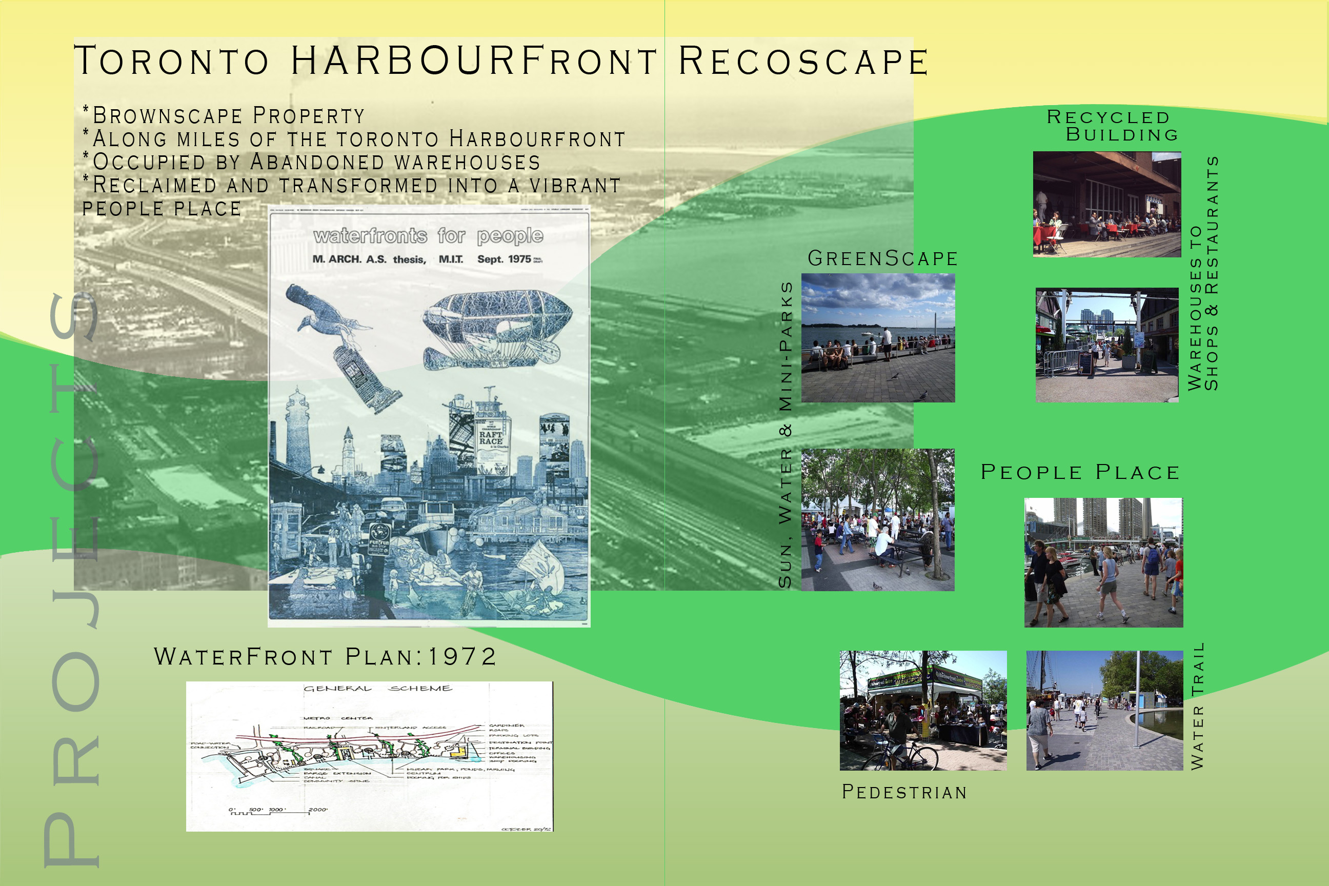 images of Toronto harbourfront project